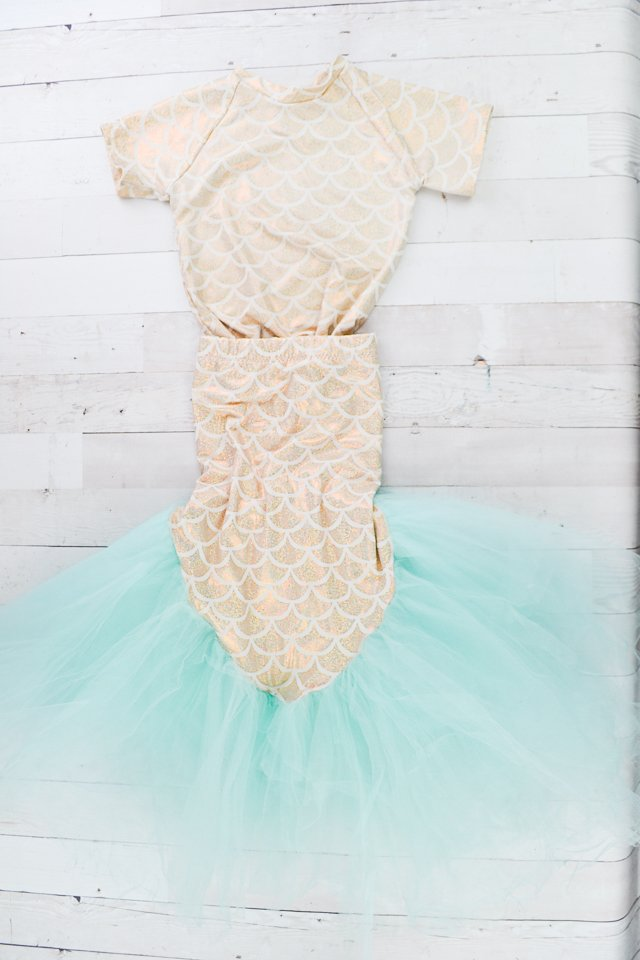 handmade mermaid costume