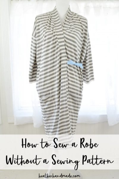 how to sew a robe