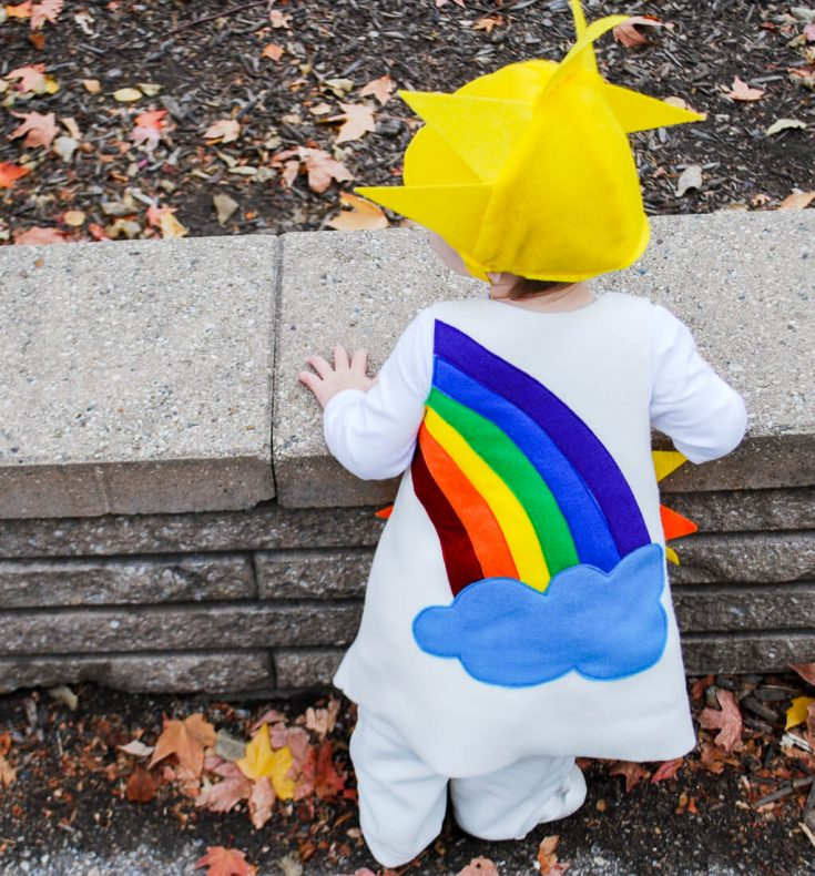 Sunshine and Rainbow free pattern