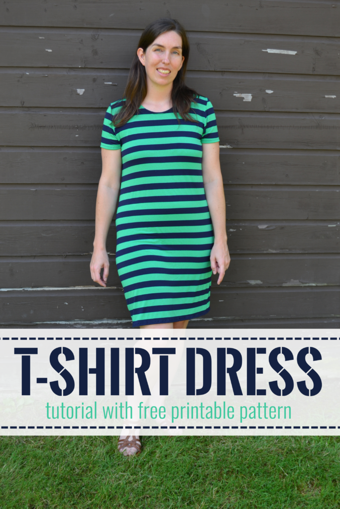 T Shirt Dress Pattern and Tutorial – Mary Martha Mama
