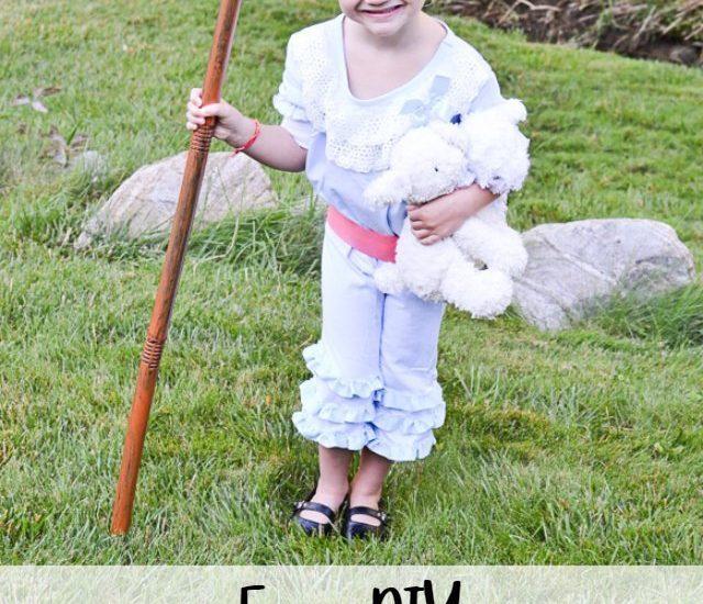 easy diy bo peep costume