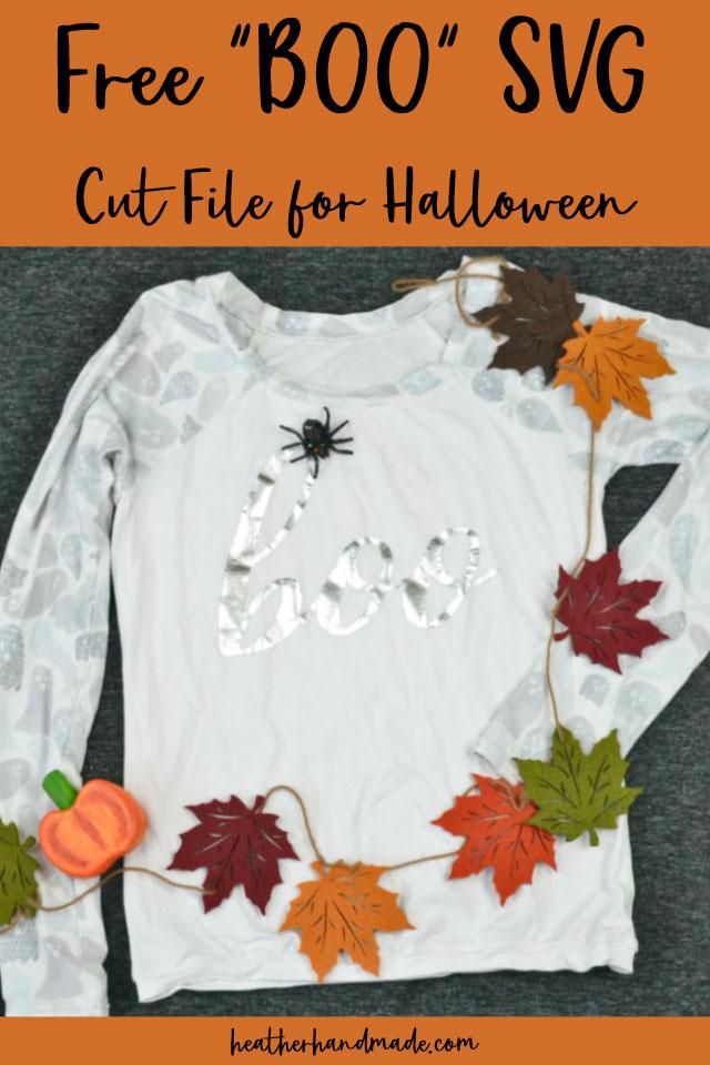 "Free ""BOO"" Halloween SVG"