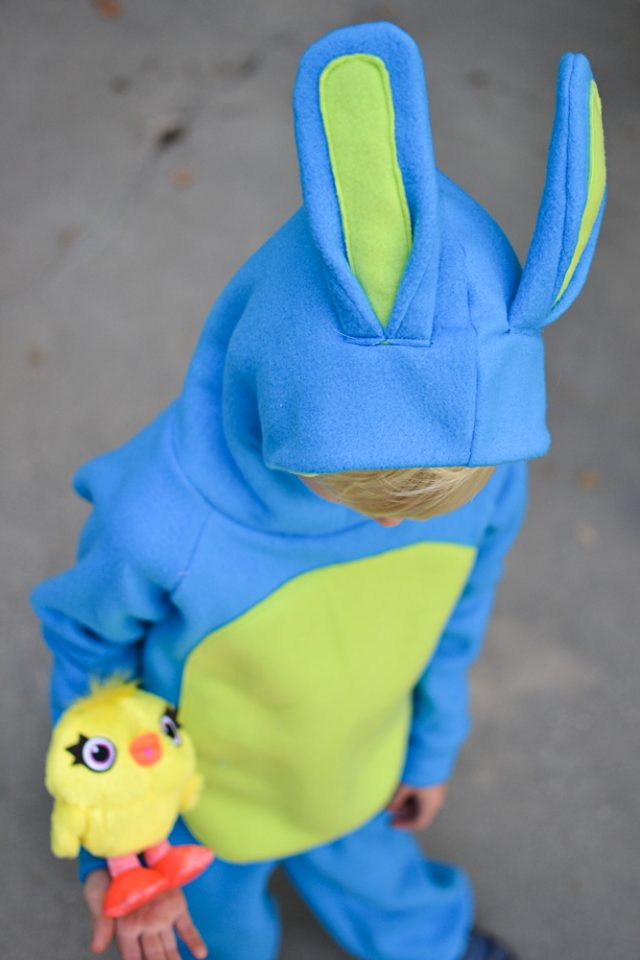 diy ducky and bunny costume