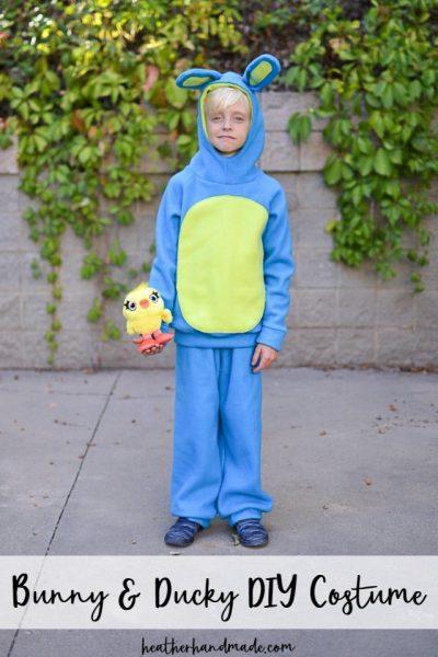 diy bunny ducky costume