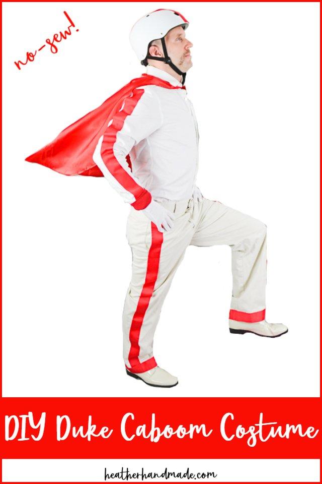 DIY Duke Caboom Costume