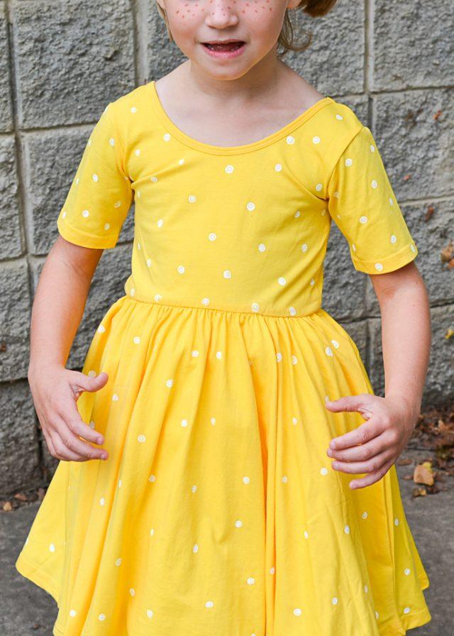 gabby gabby dotted dress