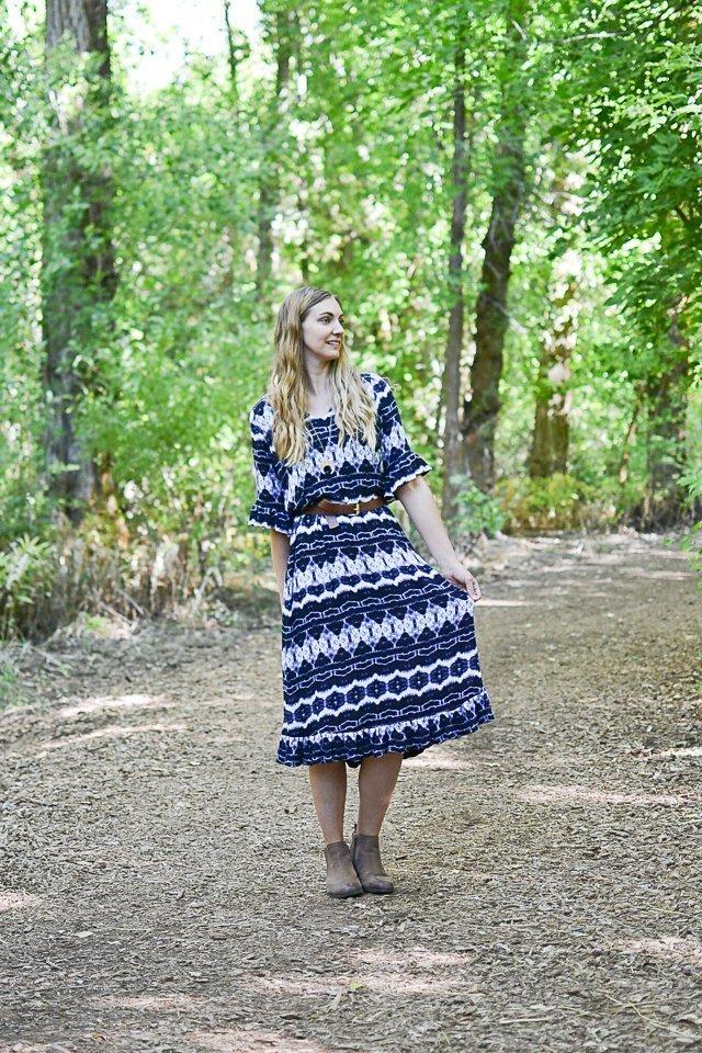 lucerne dress pattern