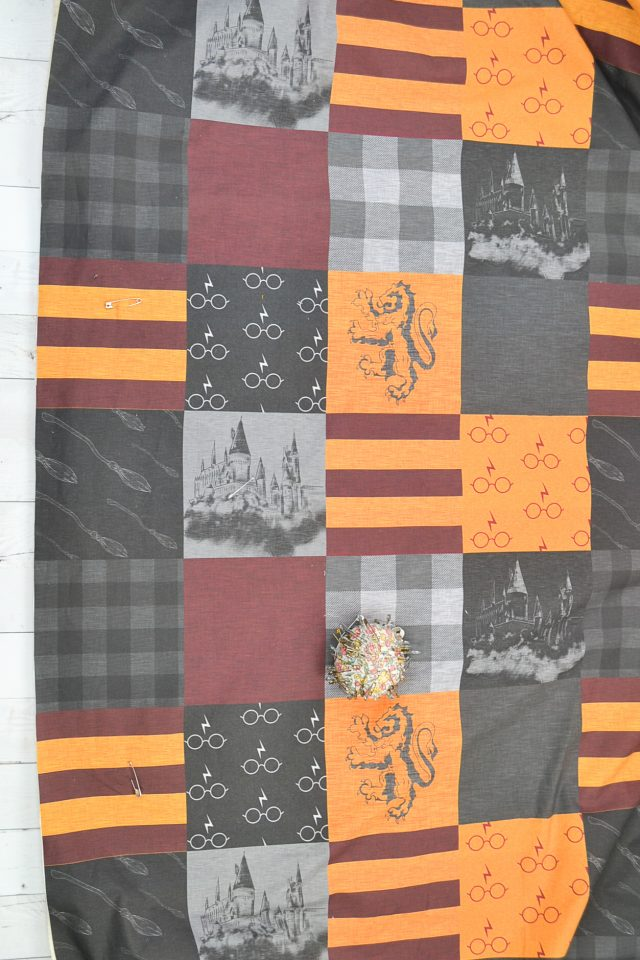 safety quilt layers together