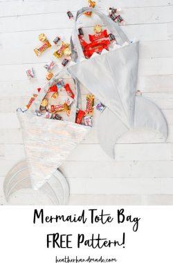 mermaid bag free pattern