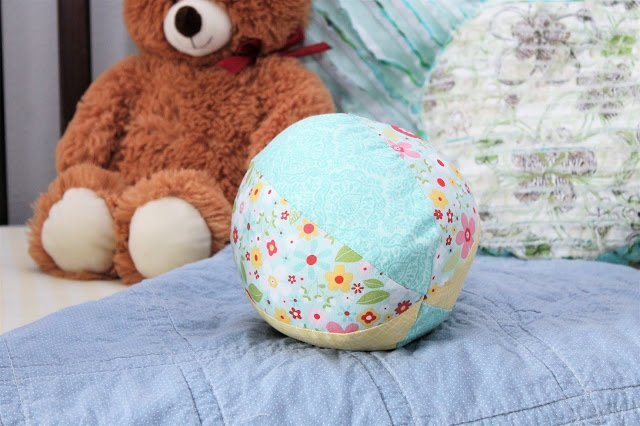 Fabric Ball with the Cricut Maker