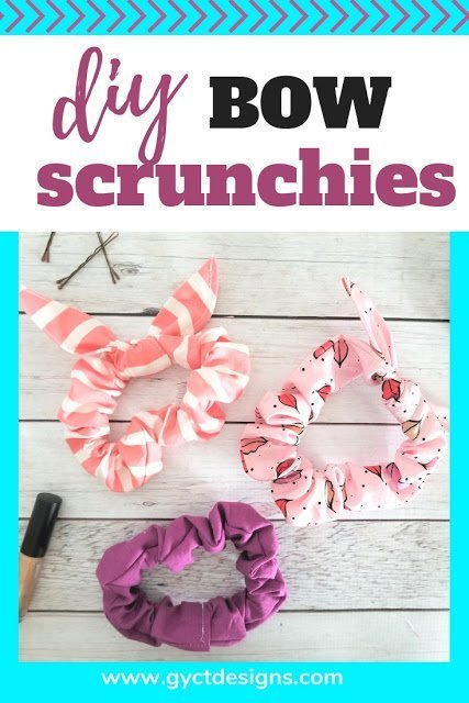 Free Bow Scrunchies Pattern