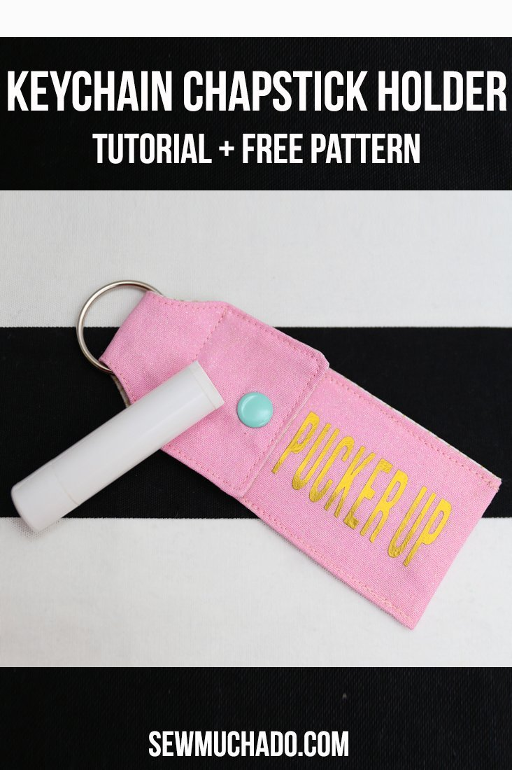 Keychain Chapstick Holder Tutorial