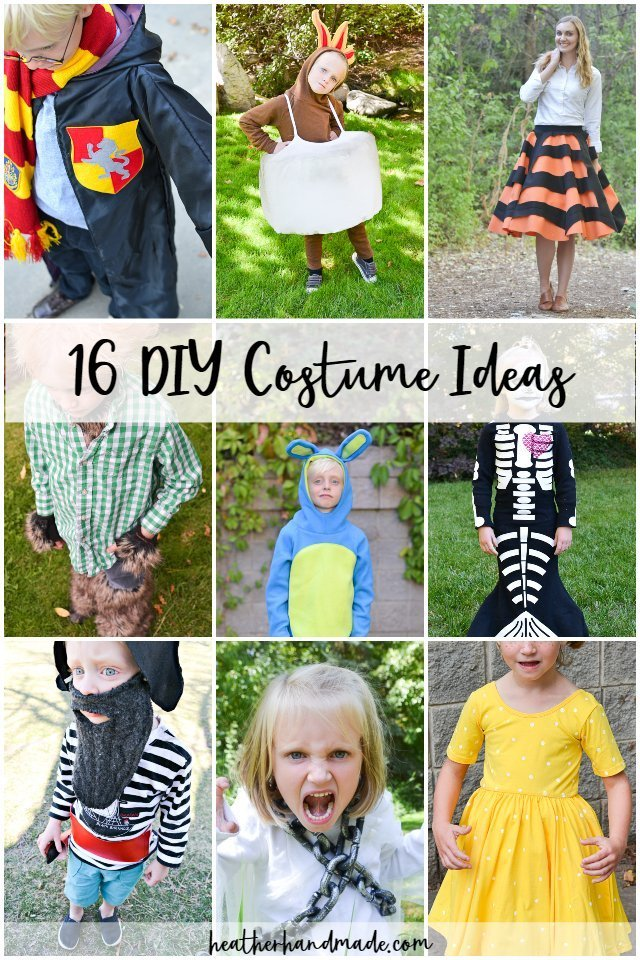diy costumes for halloween