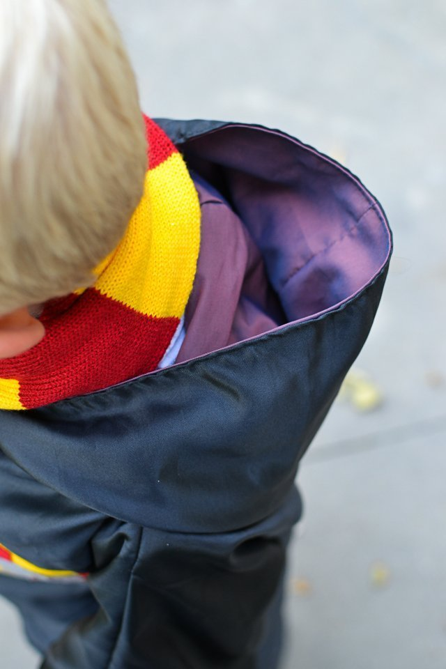harry potter costume hood
