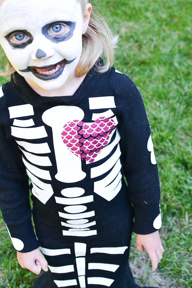 skeleton mermaid costume diy