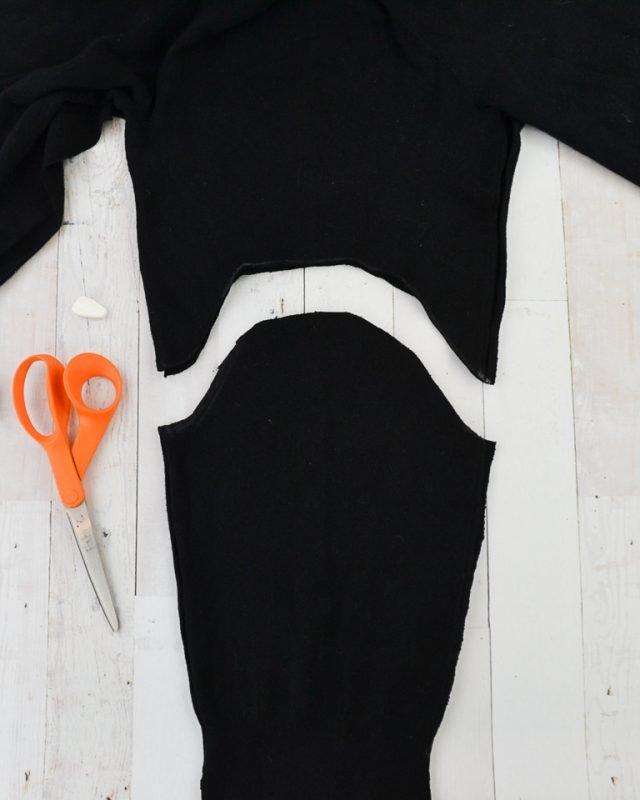 cut sleeves