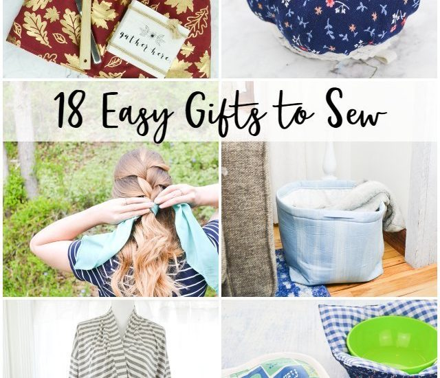 easy gifts to sew