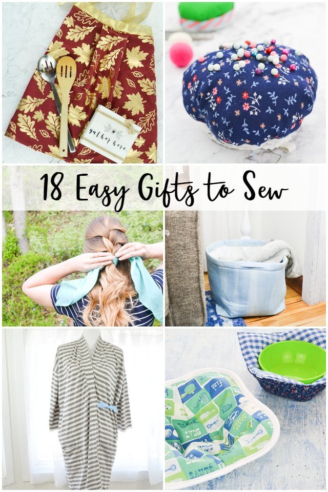 54 Easy Gifts to Sew