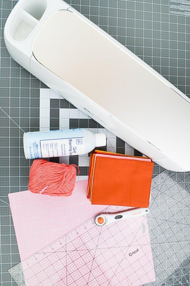 fabric tassel garland supplies