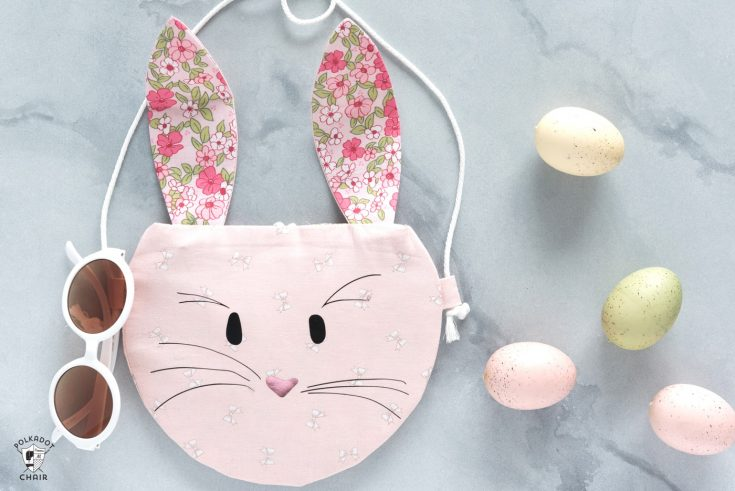 Bunny Purse Sewing Pattern for the Cricut Maker