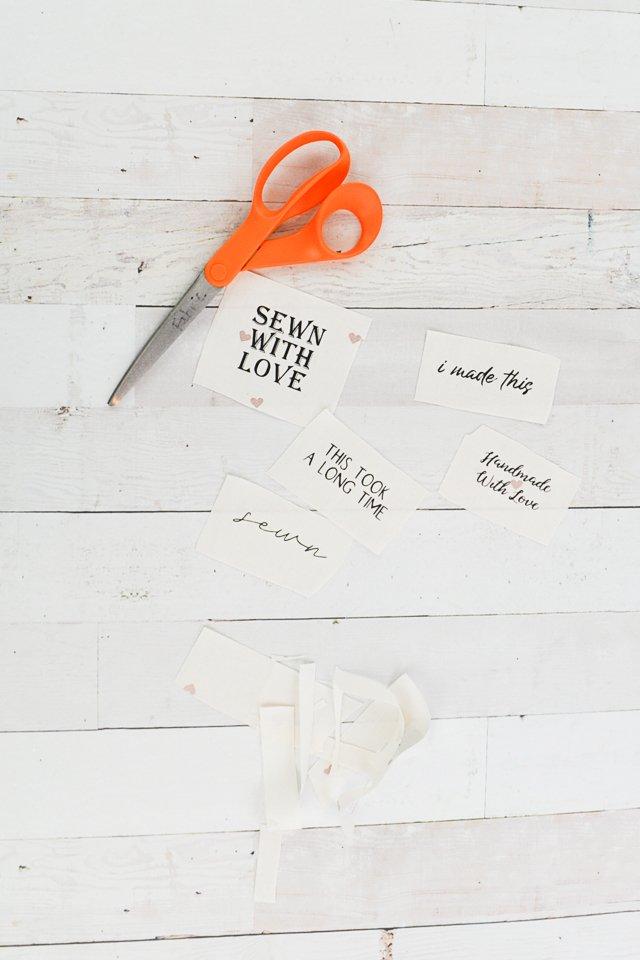 handmade tags gift