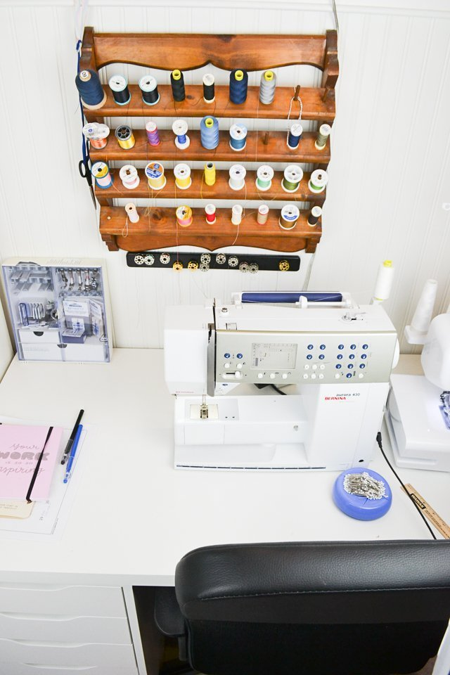 alex sewing machine table