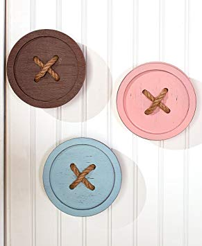 Button Wall Hooks