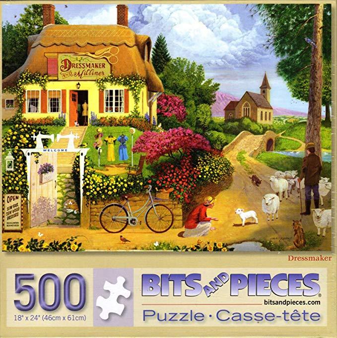Dressmaker 500 Piece Puzzle