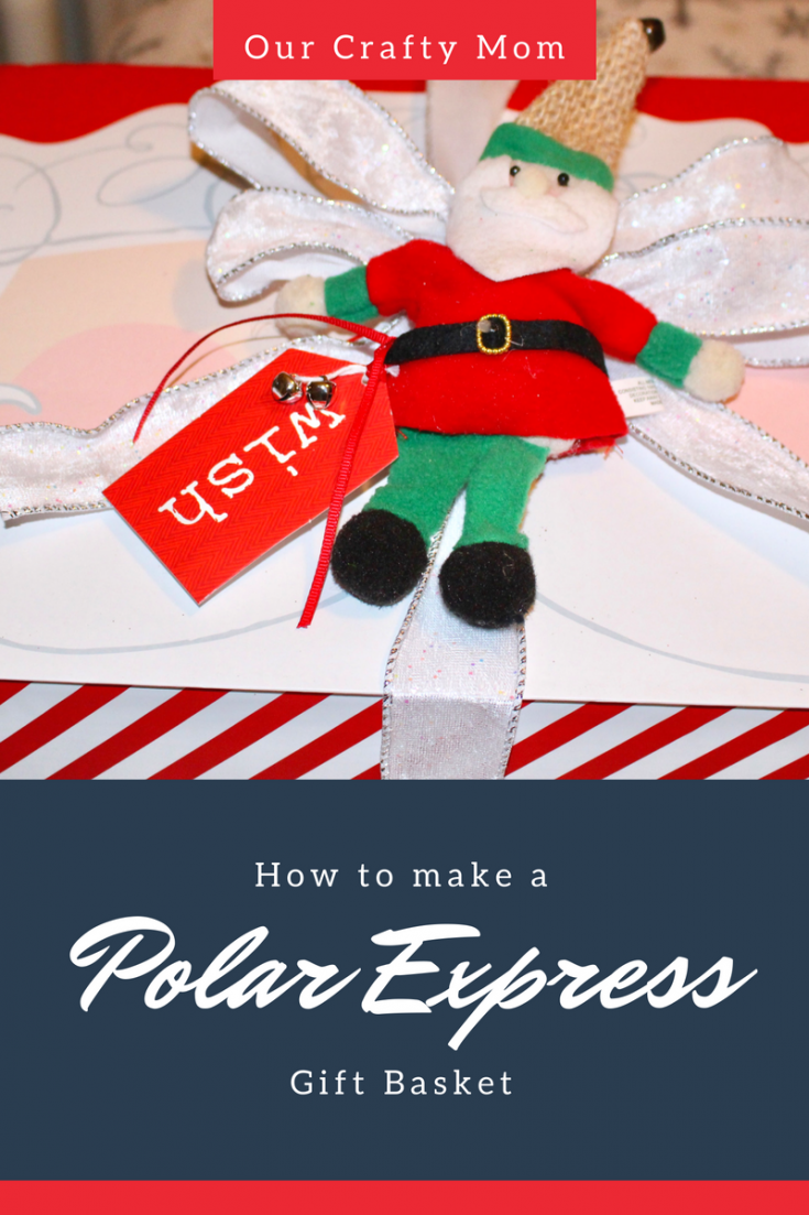 Polar Express Christmas Gift Basket