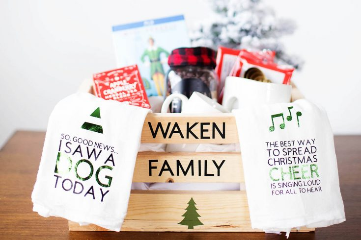Christmas Eve Family Gift Basket