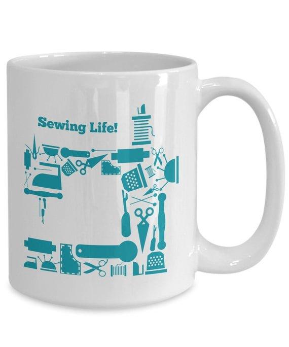 Sewing Life Mug