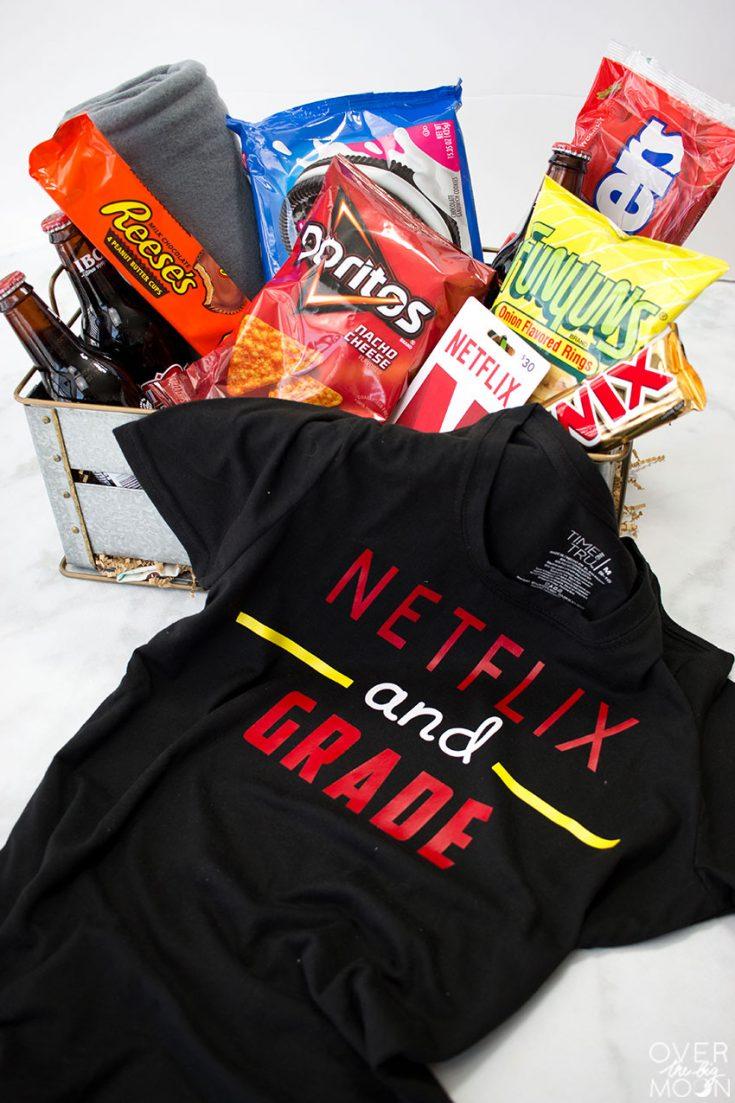Netflix Gift Basket