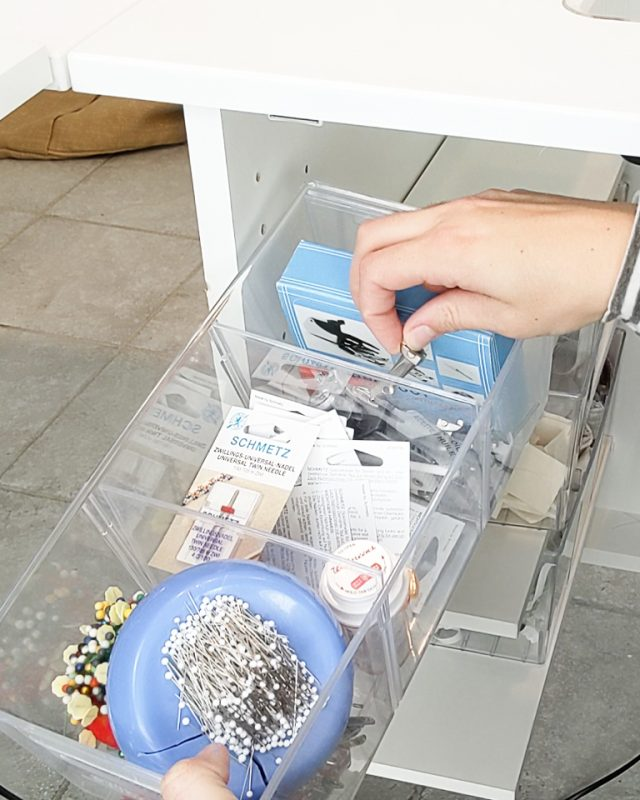sewing tools organize