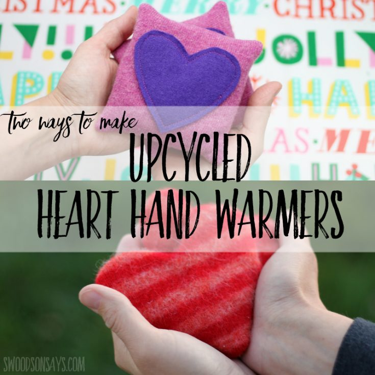Super easy homemade hand warmers
