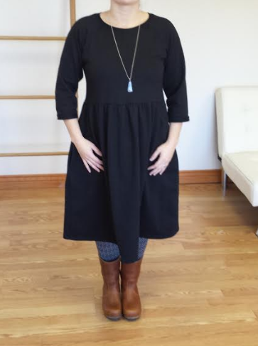 Raglan Sweatshirt: Dress Hack