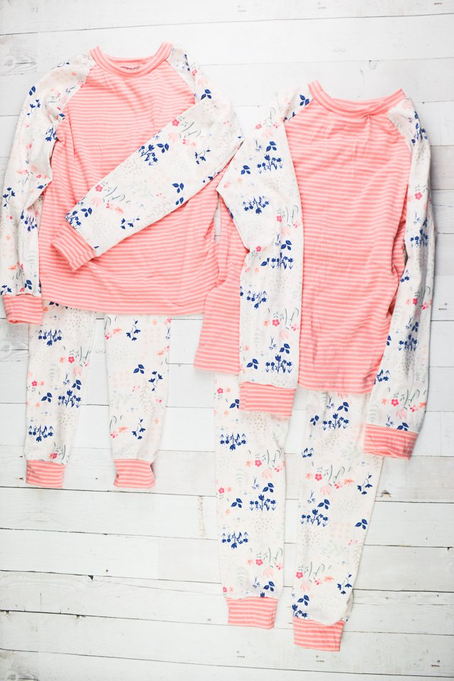girl handmade pajamas diy