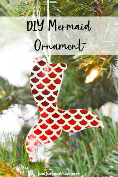 diy mermaid ornament
