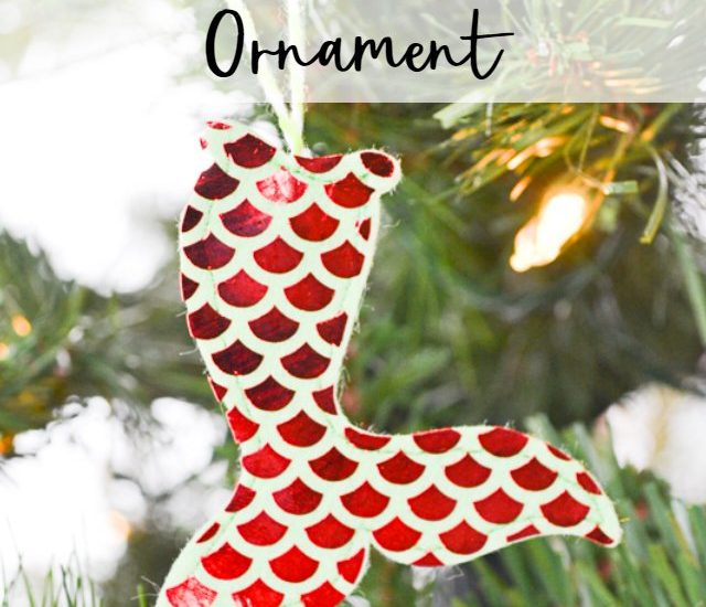diy mermaid ornament
