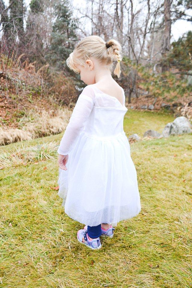 DIY Elsa Frozen 2 Dress