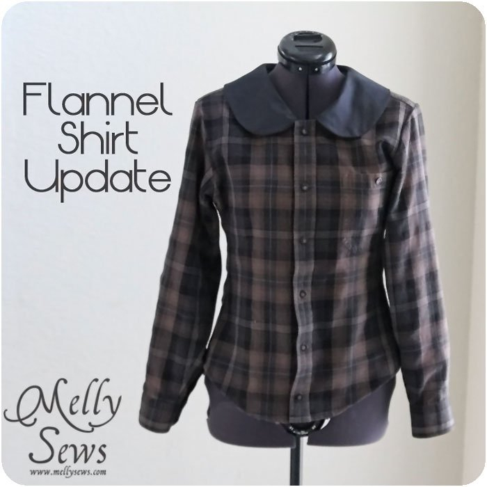 Flannel Shirt ReInvention