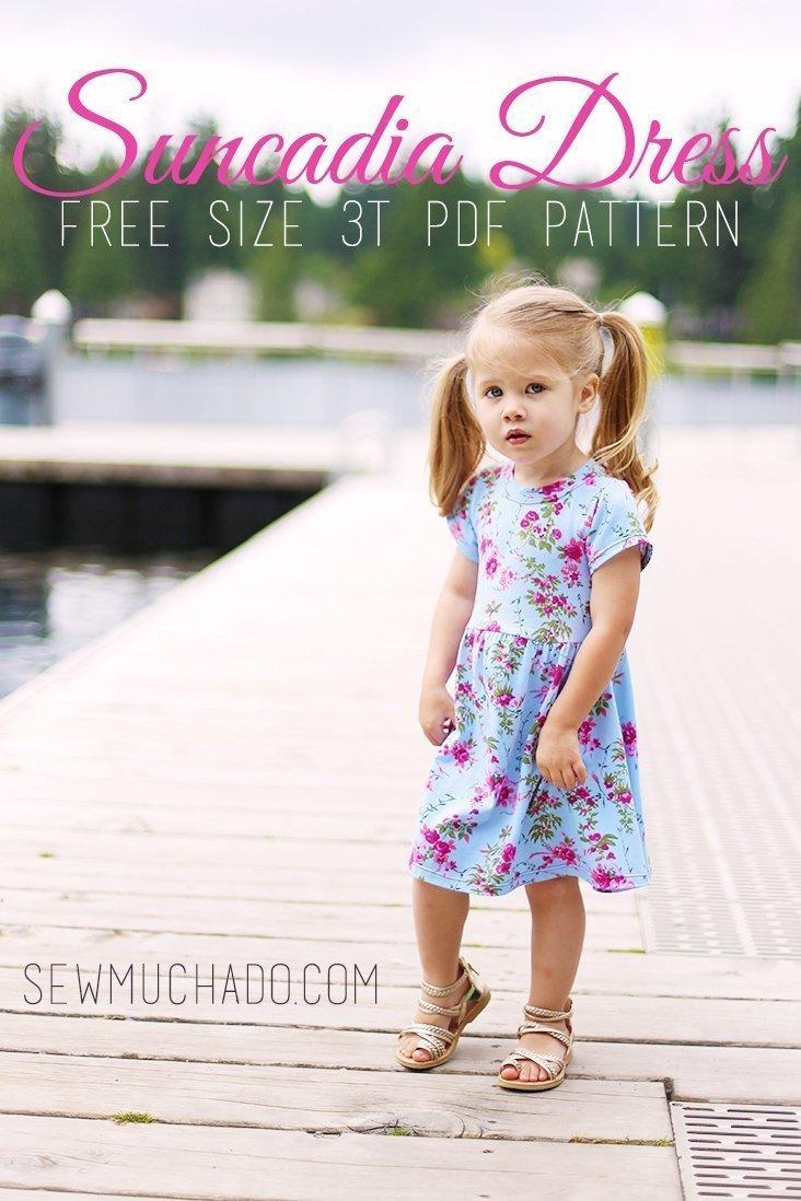 Free Girl's Knit Dress Pattern