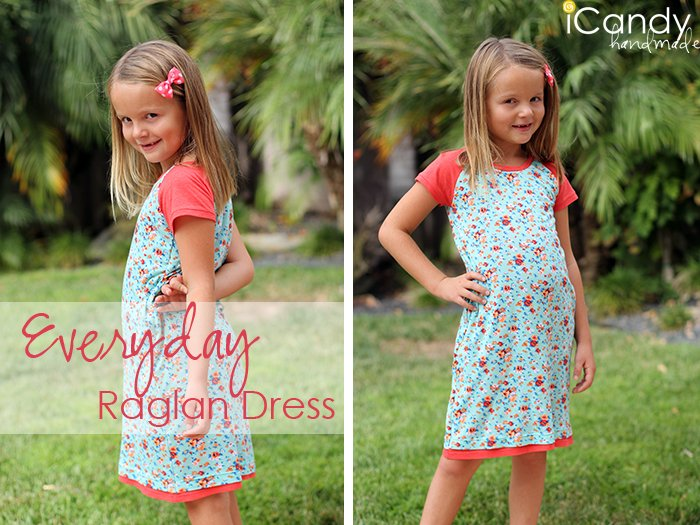 Everyday Raglan Dress