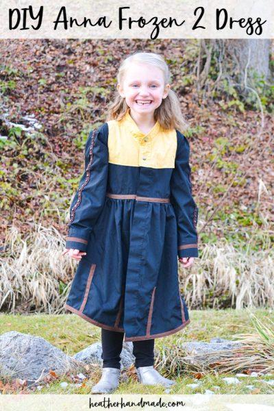 sew anna frozen 2 dress
