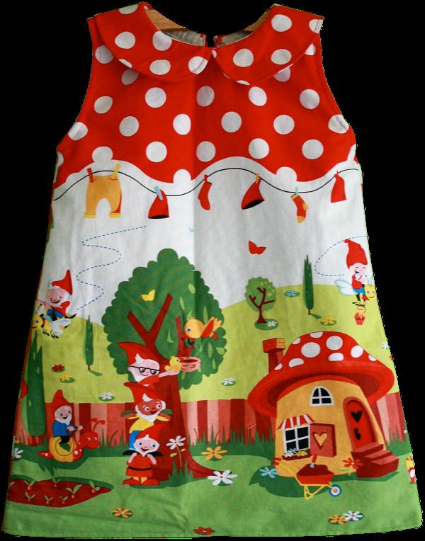 Free sewing pattern toddler dress