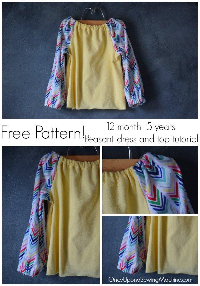 DIY Peasant Dress