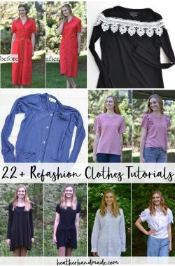 refashion clothes tutorials