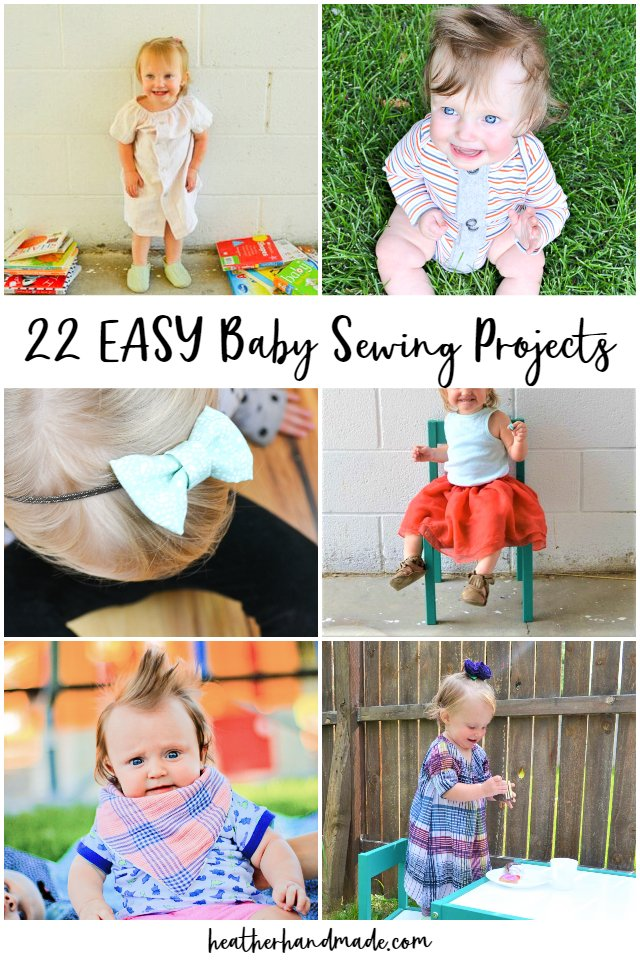 Easy Baby Sewing Projects You Can Make