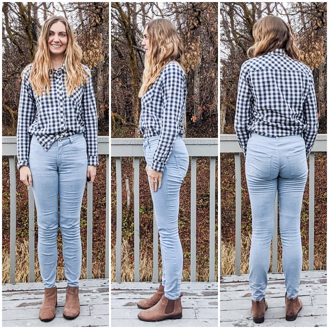 fitting jean sewing pattern