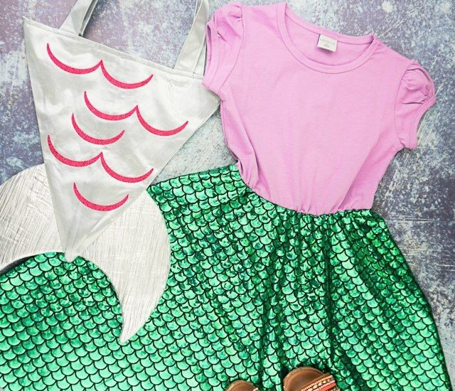 DIY Mermaid Inspired Dress