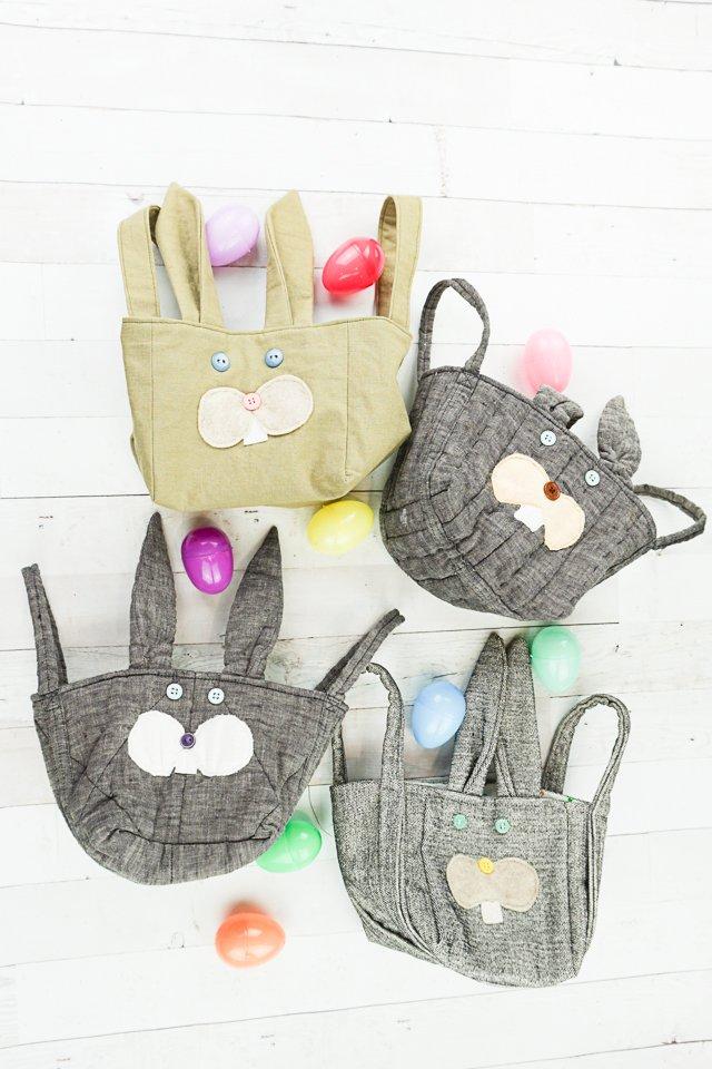 diy bunny baskets